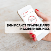 significanca of mobile apps in modern business